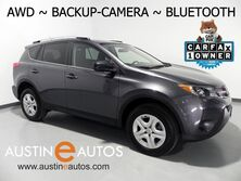 Toyota RAV4 AWD LE *BACKUP-CAMERA, TOUCH SCREEN, STEERING WHEEL CONTROLS, BLUETOOTH AUDIO & PHONE 2015