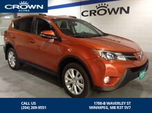 2015_Toyota_RAV4_AWD LIMITED PKG - *NO ACCIDENTS/One owner/LOW KM*_ Winnipeg MB