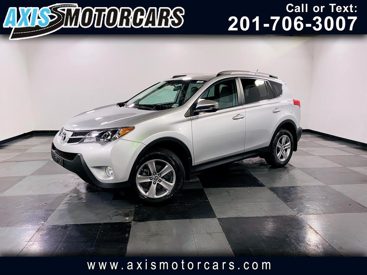 2015 Toyota RAV4 AWD4 dr XLE w/Backup Camera Navigation Sun Roof Jersey City NJ