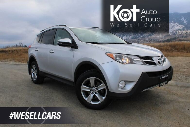 2015 Toyota RAV4 FWD XLE, One Owner, Sunroof Kelowna BC