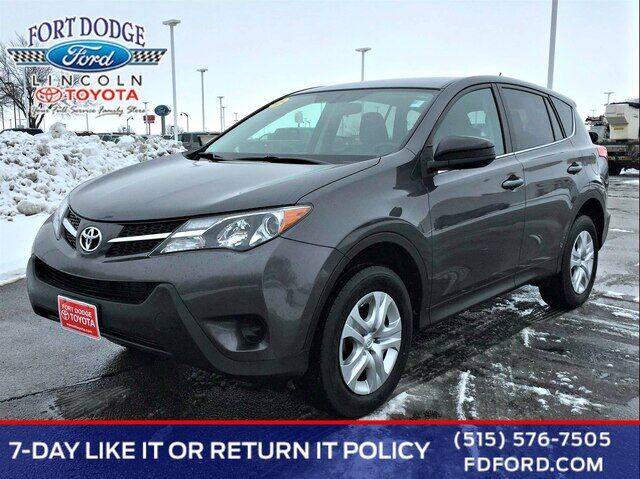 2015 Toyota RAV4 LE Fort Dodge IA