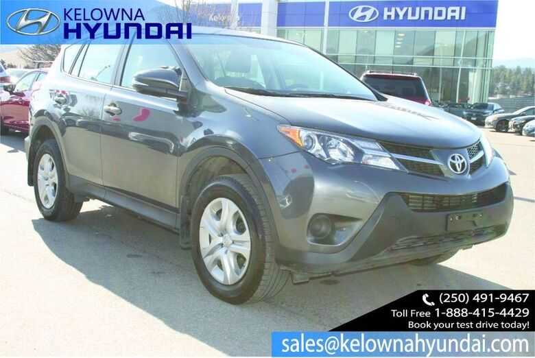 2015 Toyota RAV4 LE No accident! Penticton BC