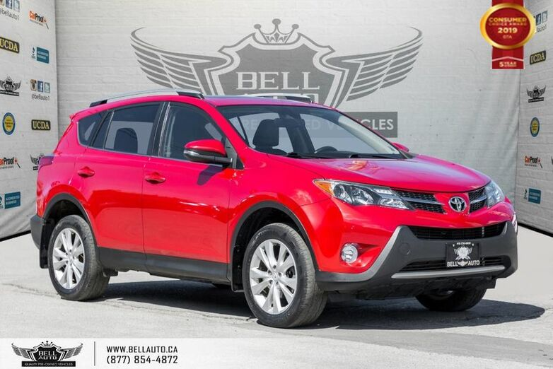2015 Toyota RAV4 Limited, AWD, NO ACCIDENT, NAVI, BACK-UP CAM, SUNROOF Toronto ON