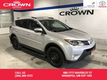 2015_Toyota_RAV4_Limited AWD Tech Package / Top Trim Level / Local / One Owner / Great Condition / Unbeatable Value_ Winnipeg MB