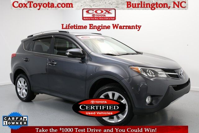 2015 Toyota RAV4 Limited Burlington NC