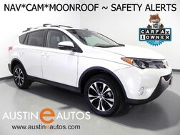 2015_Toyota_RAV4 Limited_*NAVIGATION, BLIND SPOT & LANE DEPARTURE ALERT, BACKUP-CAMERA, MOONROOF, HEATED SEATS, BLUETOOTH PHONE & AUDIO_ Round Rock TX