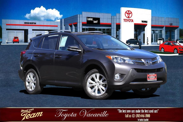 2015 Toyota RAV4 Limited Sport Utility Vacaville CA