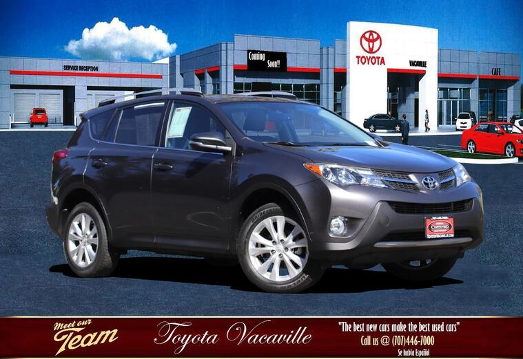 2015 Toyota RAV4 Limited Sport Utility Vacaville CA