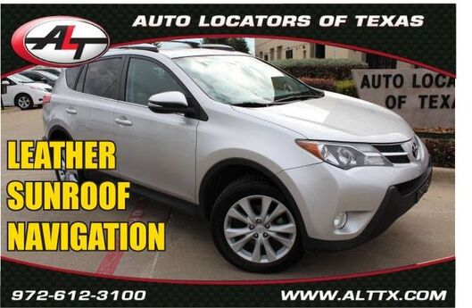 2015 Toyota RAV4 Limited with NAVIGATION Plano TX