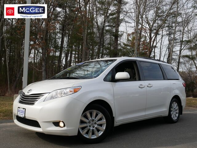2015 Toyota Sienna 5dr 7-Pass Van XLE AWD Hanover MA
