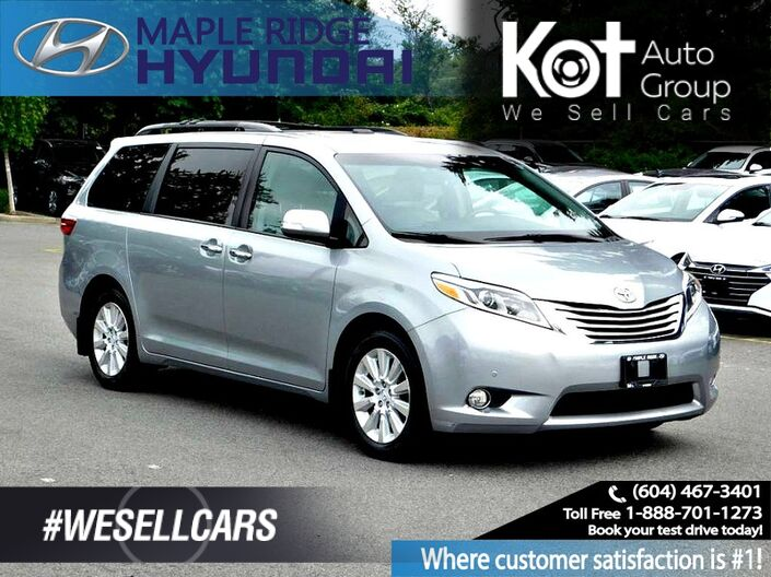 2015 Toyota Sienna 5dr XLE Limited 7-Pass AWD Maple Ridge BC
