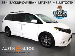 2015_Toyota_Sienna SE_*BACKUP-CAMERA, COLOR TOUCH SCREEN, LEATHER, HEATED SEATS, POWER LIFTGATE, 19 INCH WHEELS, BLUETOOTH PHONE & AUDIO_ Round Rock TX