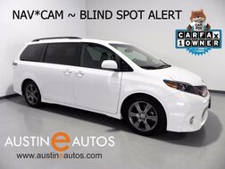 2015_Toyota_Sienna SE_*NAVIGATION, BLIND SPOT ALERT, BACKUP-CAM, MOONROOF, LEATHER, HEATED SEATS, POWER LIFTGATE_ Round Rock TX