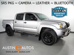 2015_Toyota_Tacoma 2WD Double Cab V6 PreRunner_*SR5 PACKAGE, LEATHER, BACKUP-CAMERA, TOUCH SCREEN, STEERING WHEEL CONTROLS, BLUETOOTH PHONE & AUDIO_ Round Rock TX