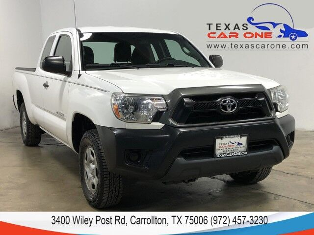 2015 Toyota Tacoma ACCESS CAB BLUETOOTH BED LINER STEERING WHEEL CONTROLS Carrollton TX