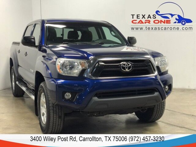 2015 Toyota Tacoma DOUBLE CAB 4WD V6 SR5 AUTOMATIC REAR CAMERA BLUETOOTH RUNNING BOARDS TOWING PKG Carrollton TX