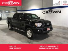 2015_Toyota_Tacoma_Double Cab TRD SPORT Man / Clean Carproof / One Owner / Super Low Km / Local_ Winnipeg MB