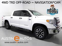 2015_Toyota_Tundra 4WD CrewMax 5.7L V8 SR5_*TRD OFF-ROAD PACKAGE, NAVIGATION, BACKUP-CAMERA, TOUCH SCREEN, ALLOY WHEELS, BLUETOOTH PHONE & AUDIO_ Round Rock TX