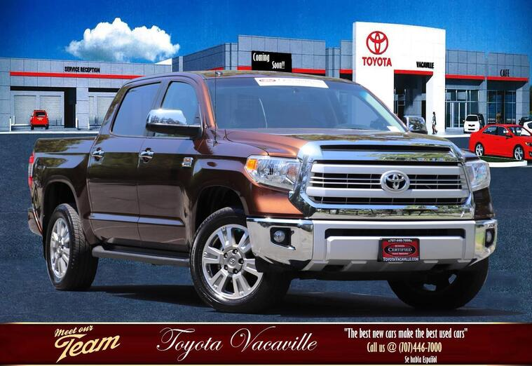 2015 Toyota Tundra Crewmax 1794 Edition Pickup  5 1/2 Ft Vacaville CA