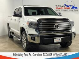 2015_Toyota_Tundra_LIMITED 5.7L CREWMAX 4WD NAVIGATION SUNROOF LEATHER HEATED SEATS REAR CAMERA_ Carrollton TX