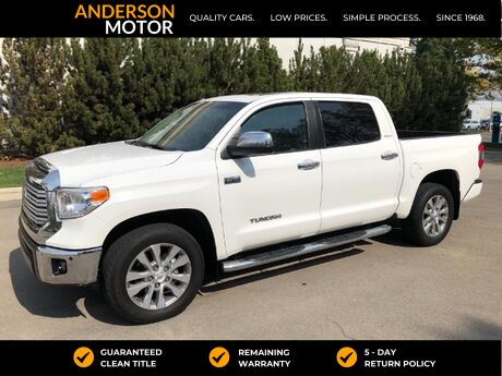 2015 Toyota Tundra Limited 5.7L CrewMax 4WD Salt Lake City UT