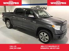 2015_Toyota_Tundra_Platinum/Crewmax/Navigation/Heated seats/Sunroof_ Winnipeg MB