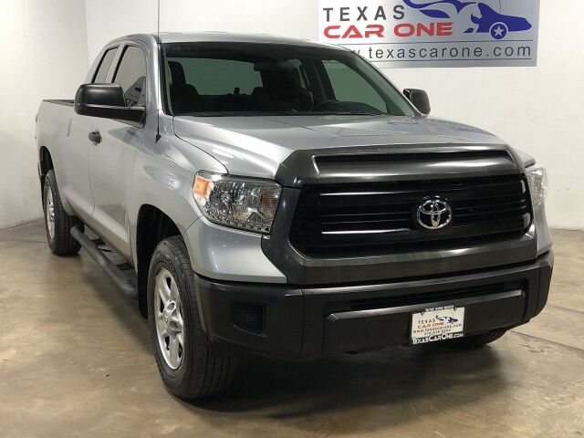 2015 Toyota Tundra SR 4.6L V8 DOUBLE CAB AUTOMATIC REAR CAMERA BLUETOOTH TOWING HITCH BED LINER Carrollton TX