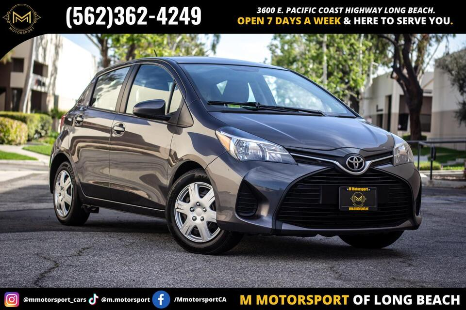 2015_Toyota_Yaris_L Hatchback Sedan 4D_ Long Beach CA