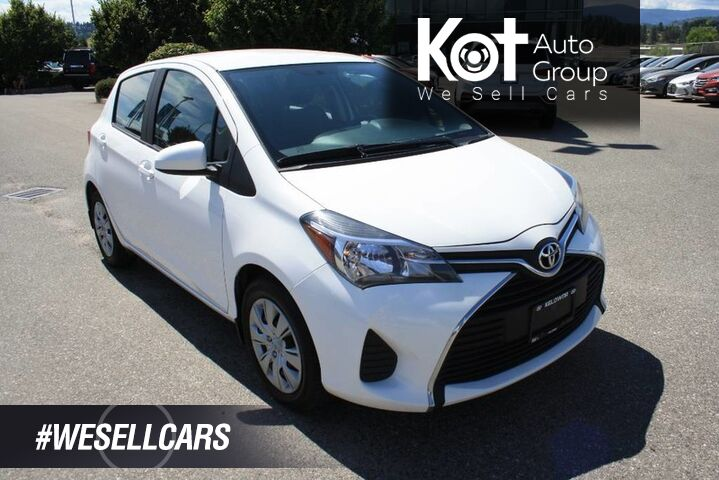 2015 Toyota Yaris LE MANUAL! BLUETOOTH! POWER OPTIONS! GREAT ON GAS PERFECT FOR T Kelowna BC