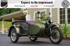 2015 Ural Patrol 2WD Green Metallic Custom