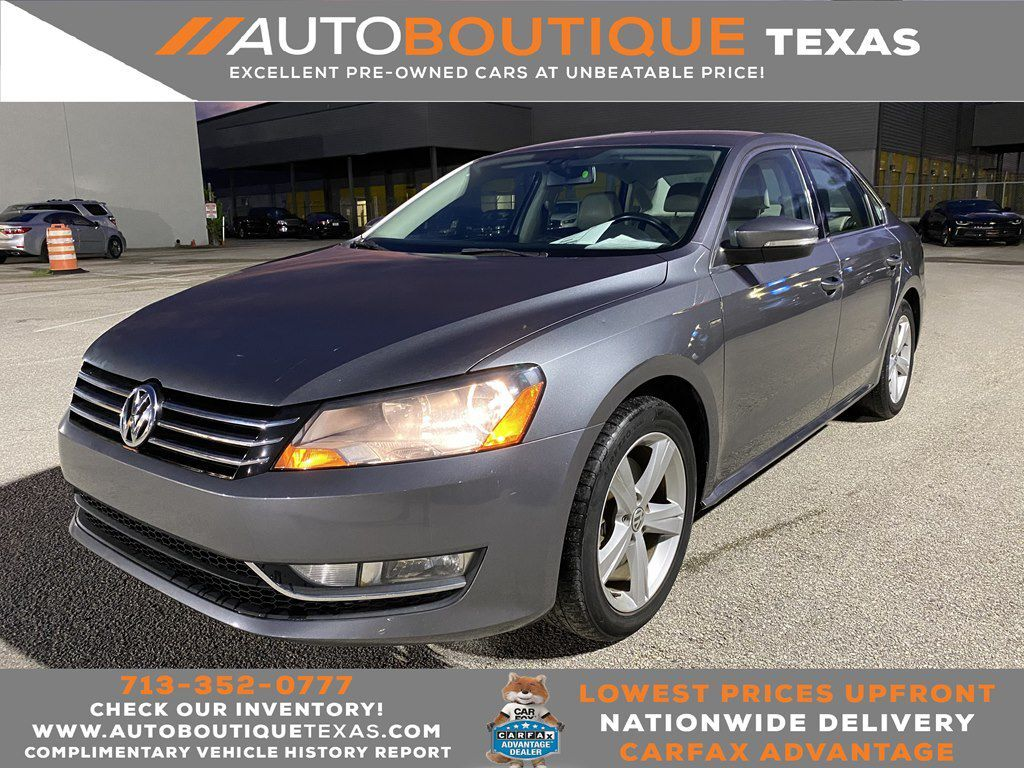 2015 VOLKSWAGEN PASSAT S S Houston TX