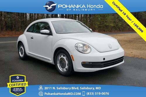 2015_Volkswagen_Beetle_1.8T ** Pohanka Certified 10 Year / 100,000  **_ Salisbury MD