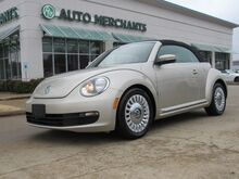 2015_Volkswagen_Beetle_1.8T PZEV Convertible 1.8L 4CYL TURBOCHARGED, AUTOMATIC, LEATHERETTE SEATS, BLUETOOTH CONNECTIVITY_ Plano TX