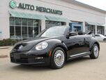 2015 Volkswagen Beetle 1.8T PZEV Convertible BLUETOOTH CONNECTIVITY, STEERING WHEEL CONTROLS, HEATED FRONT SEATS