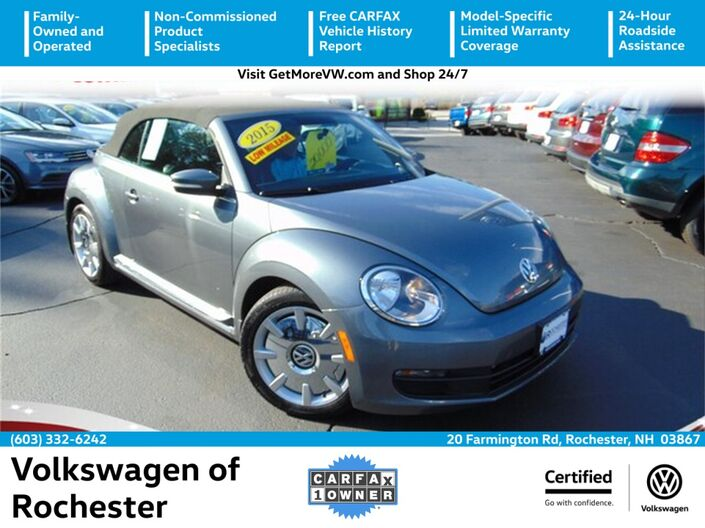 2015 Volkswagen Beetle 1.8T w/ Sound and Navigation Rochester NH