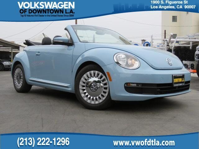 2015 Volkswagen Beetle Convertible 1.8T Los Angeles CA