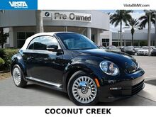 2015_Volkswagen_Beetle Convertible_1.8T w/Tech_ Coconut Creek FL