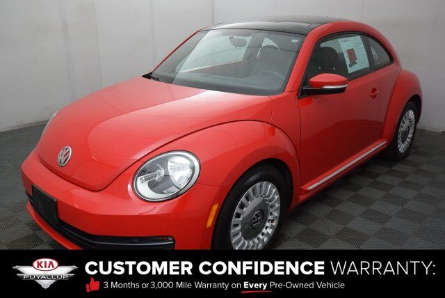 2015 Volkswagen Beetle Coupe 1.8T Puyallup WA