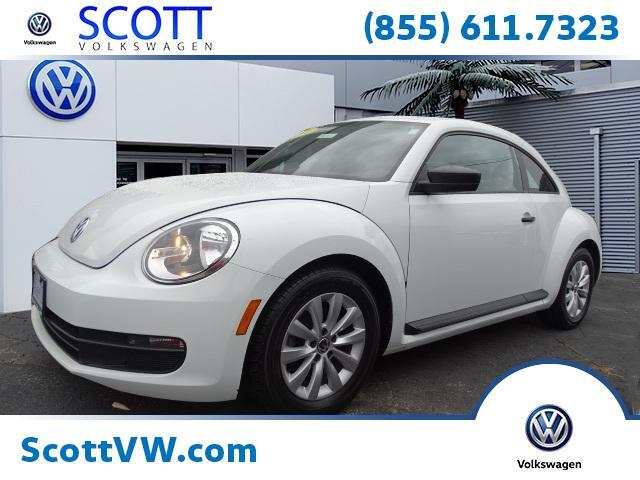 2015 Volkswagen Beetle Coupe 2dr Auto 1.8T Fleet Edition PZEV Providence RI