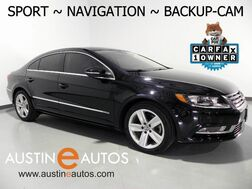 2015_Volkswagen_CC Sport_*NAVIGATION, BACKUP-CAMERA, TOUCH SCREEN, HEATED SEATS, ALLOY WHEELS, BLUETOOTH PHONE & AUDIO_ Round Rock TX