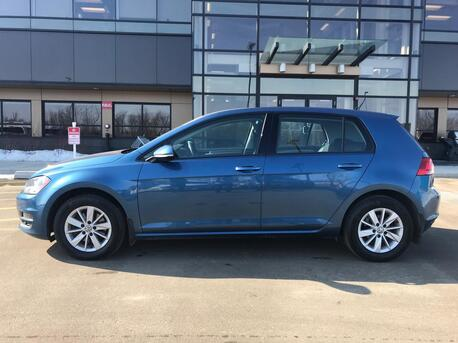 2015_Volkswagen_Golf_Trendline TDI 2.0 Liter Clean Diesel ~  Automatic ~ Heated Seats ~ Low Payments 888-299-8130_ Sherwood Park AB