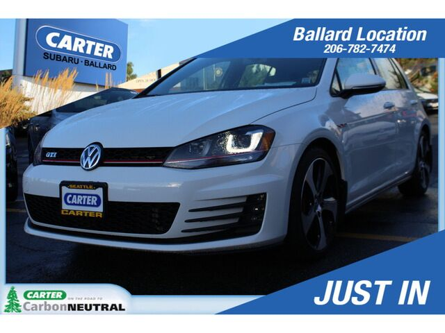 2015 Volkswagen Golf GTI Autobahn Seattle WA