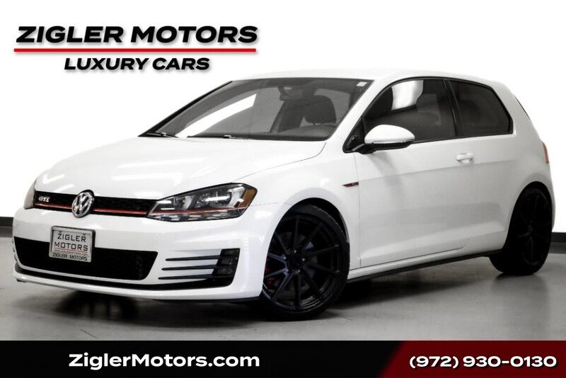 2015 Volkswagen Golf GTI S 6-Speed Manual Lowered Sport Exhaust Addison TX