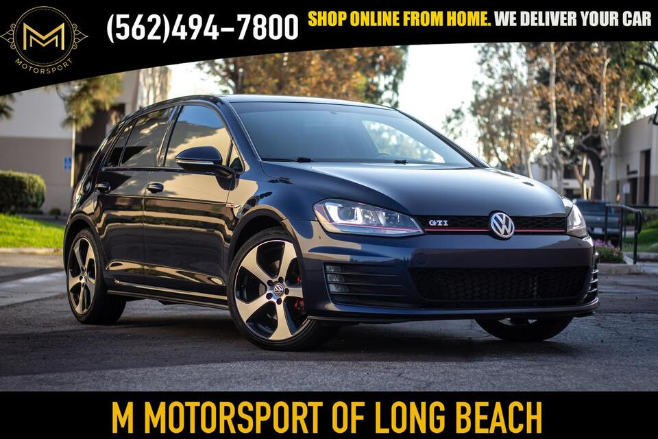 2015_Volkswagen_Golf GTI_S Hatchback Sedan 4D_ Long Beach CA