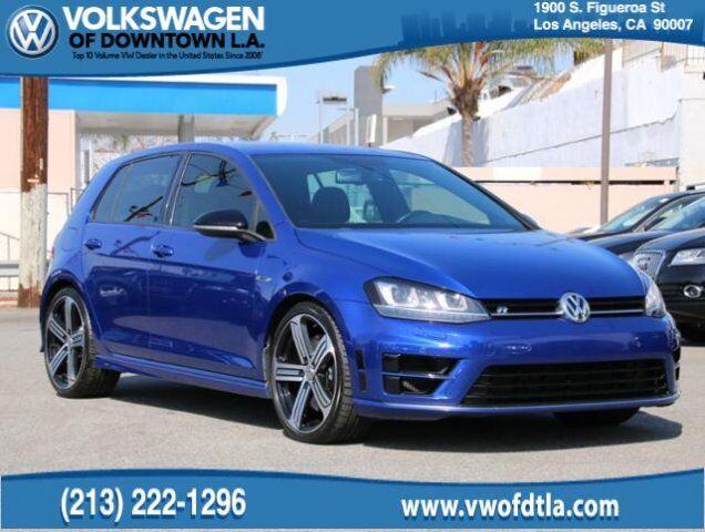 2015 Volkswagen Golf R 4MOTION Los Angeles CA