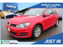 2015_Volkswagen_Golf_S 1.8T_ Seattle WA