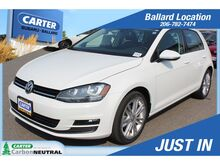 2015_Volkswagen_Golf_SE TDI_ Seattle WA