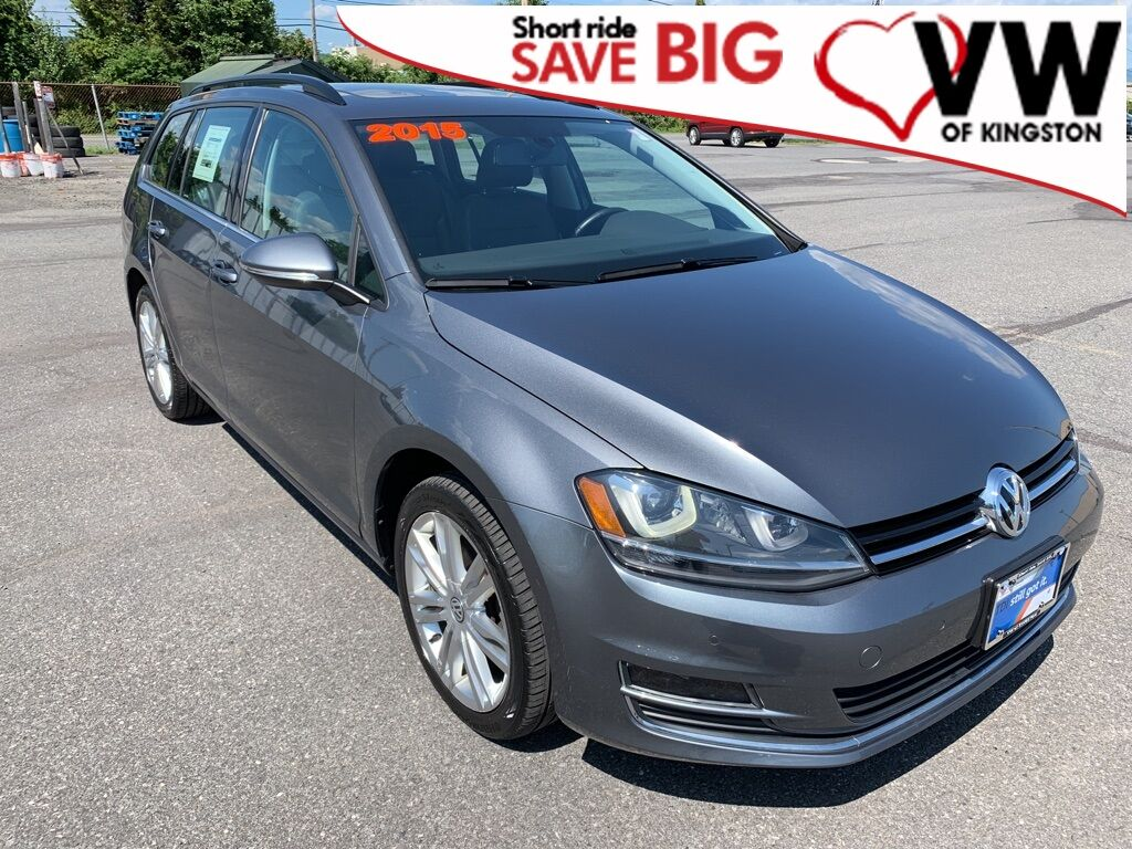 2015_Volkswagen_Golf SportWagen_SE_ Kingston NY