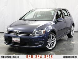 2015_Volkswagen_Golf_TDI S / 2.0L 4-Cyl DIESEL Engine / MANUAL Transmission / Touch Screen Infotainment System_ Addison IL