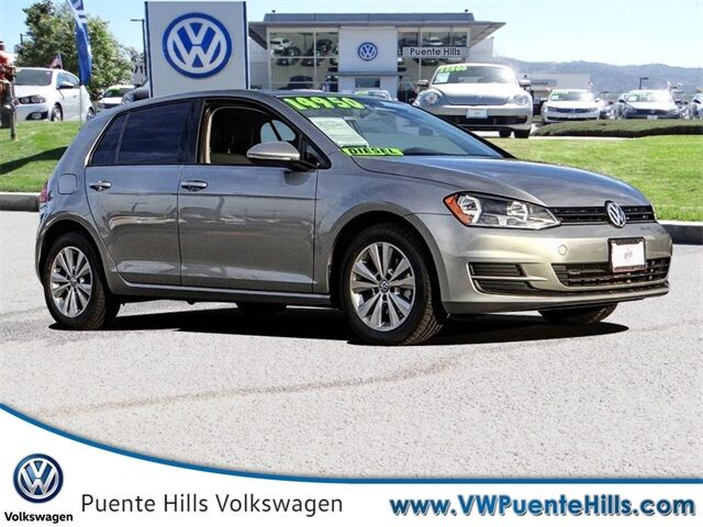 2015 Volkswagen Golf TDI S 4-Door City of Industry CA
